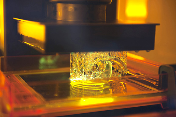 impression 3D stéréolithographie