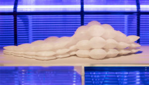 matériau 3D gonflable