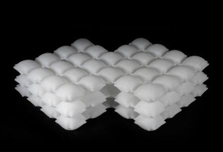 matériau gonflable