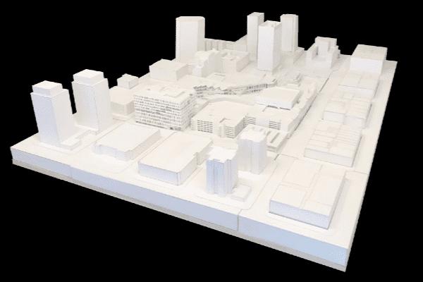 image architecture 3d maquette