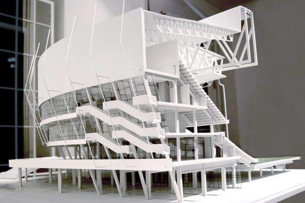 impression architecture 3d maquette