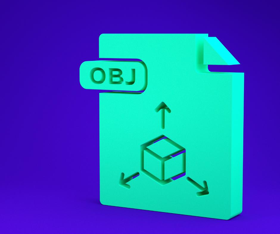 illustration d'un fichier icône au format .obj