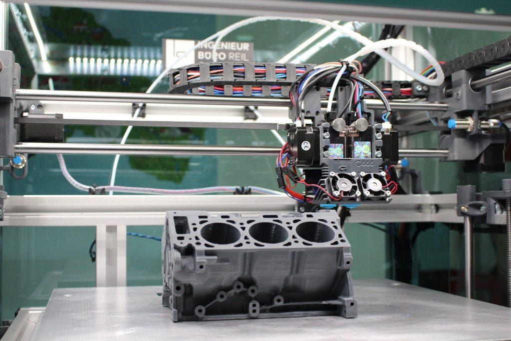 Fonctionnement imprimante 3D
