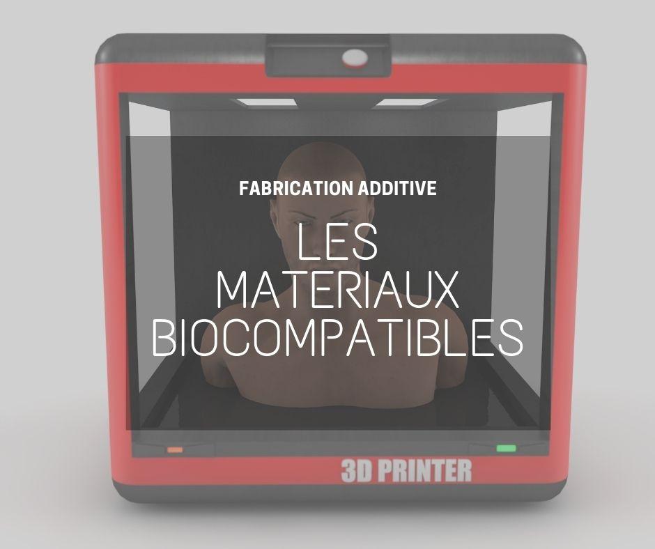 Impression 3D biomateriaux
