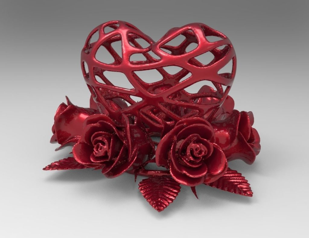 fleur-rose-coeur-mariage